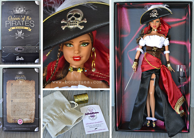 Bijou Queen of the Pirates, by Sebastian Atelier for the Spanish Doll Convention