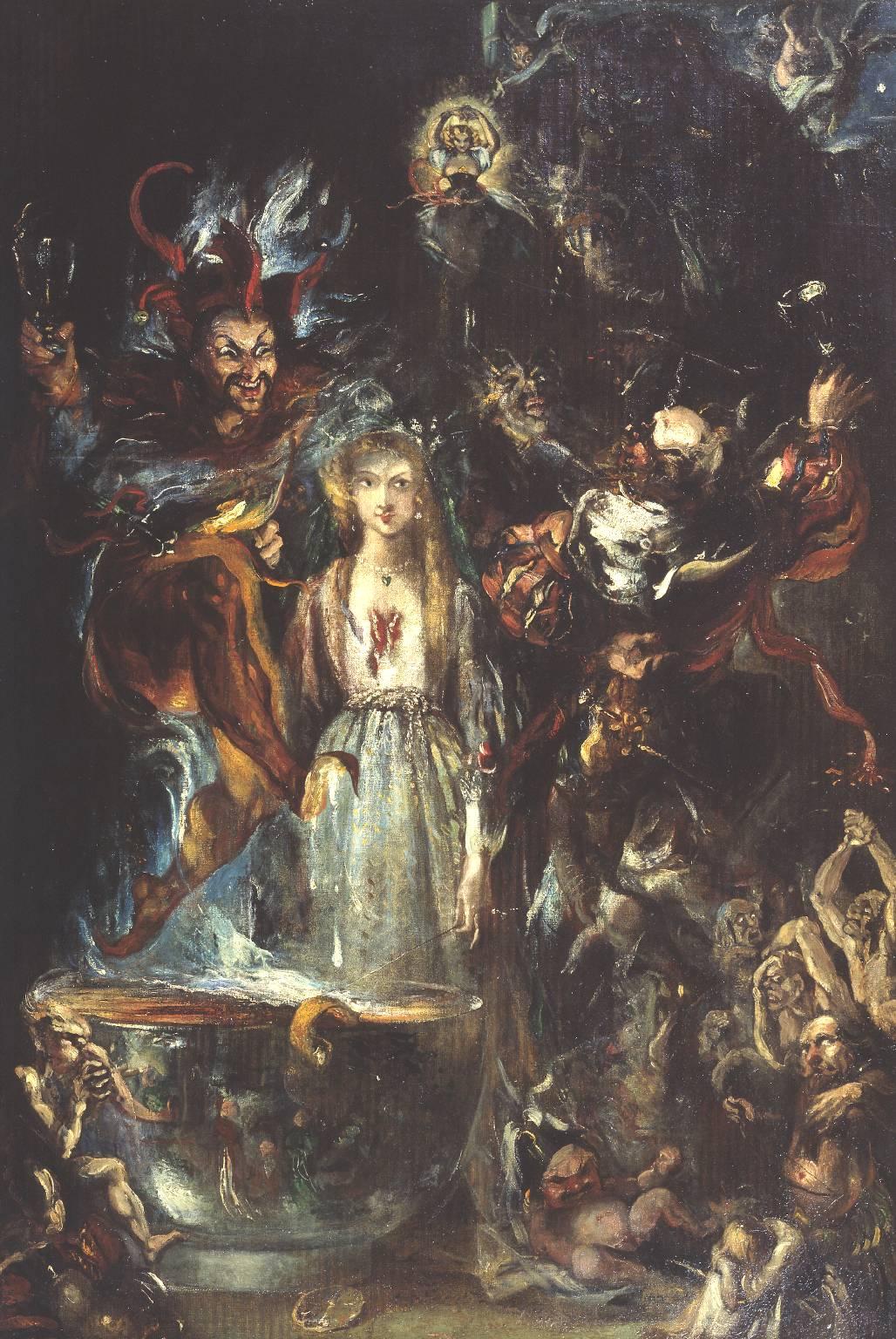 Theodor von Holst - Fantasy Based on Goethe's 'Faust' 1834