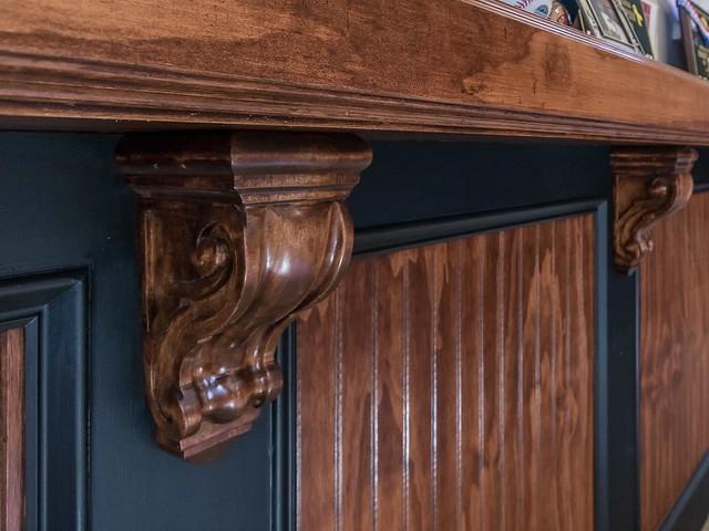 Bonus room wainscoting-Housepitality Designs