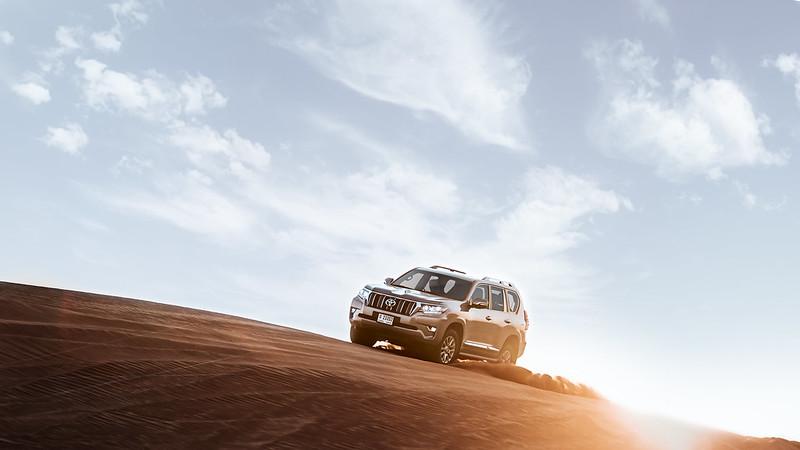Al Futtaim Launches the all new Prado for 2018 CarbonOctrane 3