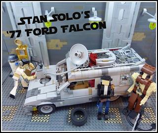 """Stan Solo's '77 Ford """"Aluminum"""" Falcon Sundowner"""