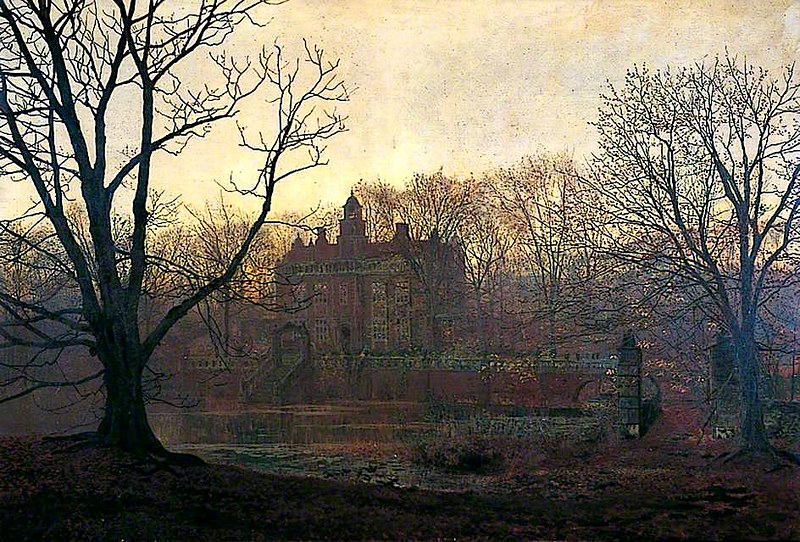 A Yorkshire Home by John Atkinson Grimshaw, 1878