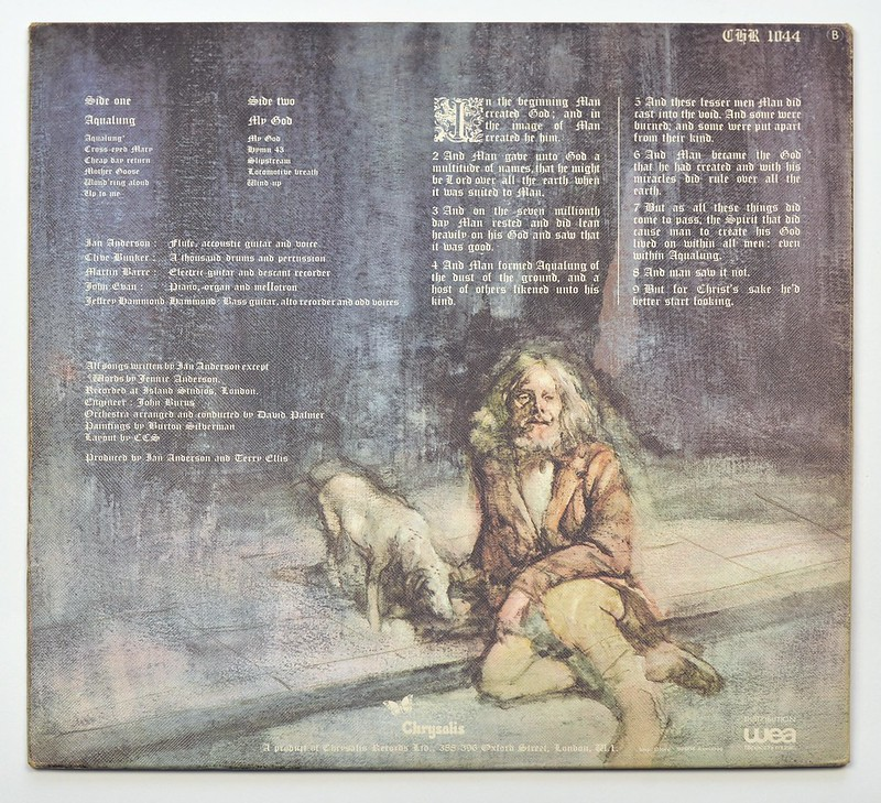 A0111 Jethro Tull Aqualung France