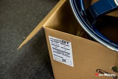 ADVAN GT Premium Version - Racing Titanium Blue and Ring Machining Logo 21x12/20x9