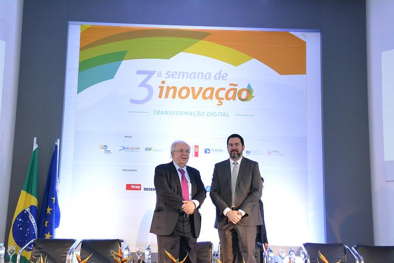 Abertura da 3ª Semana de Inovação e Cerimônia de premiação do 21º Concurso Inovação