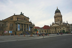 Concert Hall and French Church at Gendarmenmarkt, Berlin