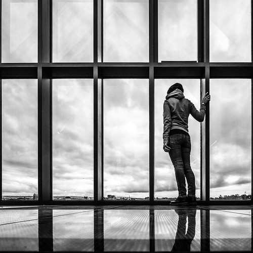 view kilkenny building window ireland cloudy reflection streetphotography faceless clouds modern girl woman blackandwhite sky urban city countykilkenny ie onsale