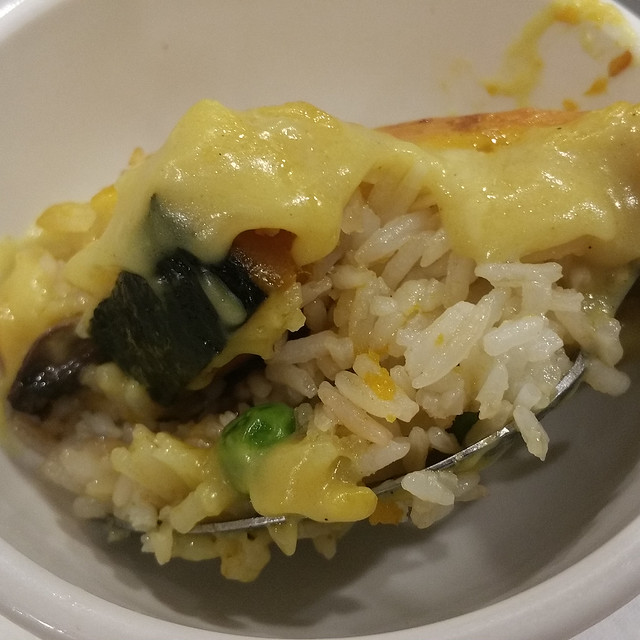 2017-10-21 Sun Bo Kong - G10 Baked Fried Rice with Pumpkin and Cheese