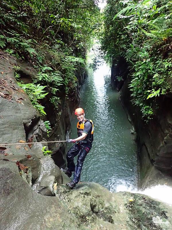 Canyoning in Samar