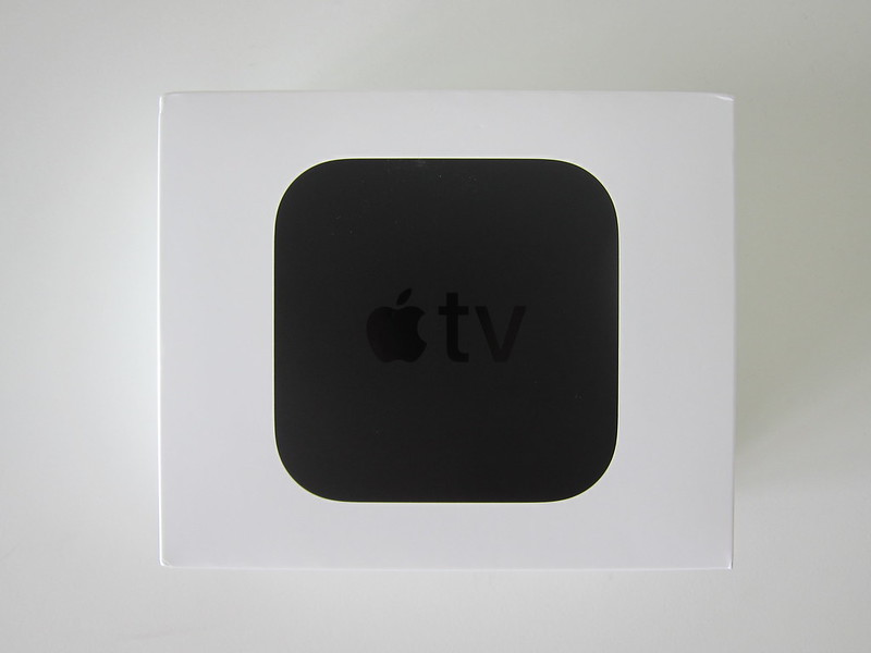 Apple TV 4K - Box Front