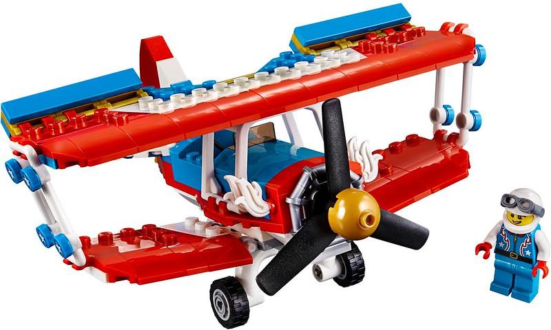 Daredevil Stunt Plane (31076)