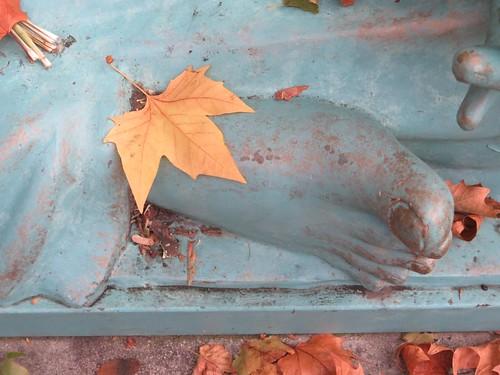Thiruvalluvar's foot