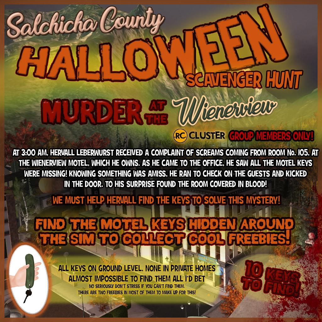 Salchicha County Halloween Scavenger Hunt! - TeleportHub.com Live!