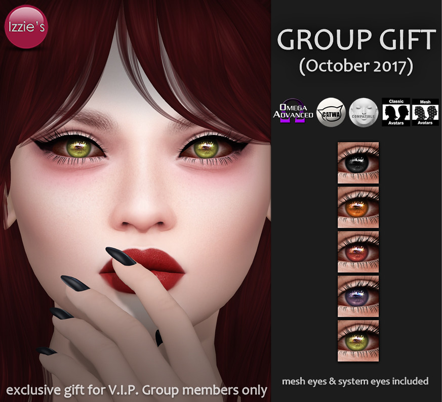 VIP Group Gift October - TeleportHub.com Live!