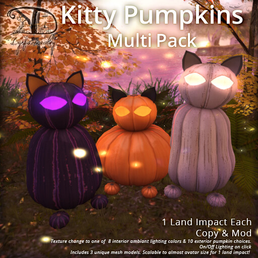 Kitty Pumpkins Multi - TeleportHub.com Live!