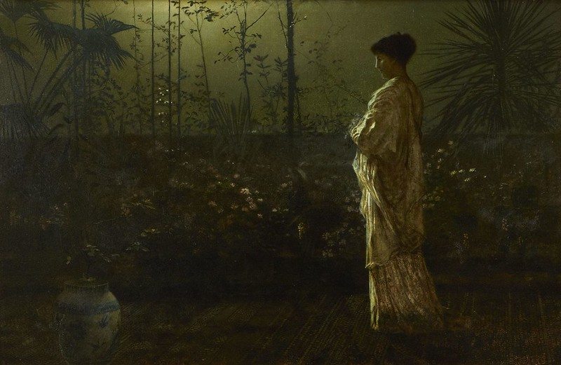 Night Vigil by John Atkinson Grimshaw