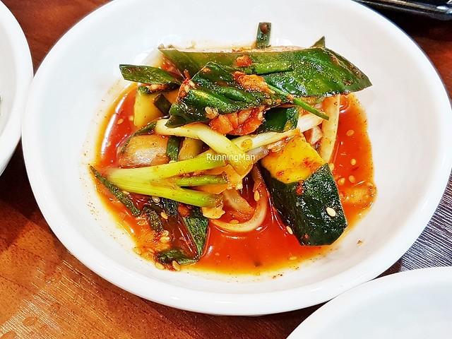 Kimchi Oi Sobaegi / Kimchi Pickled Cucumber