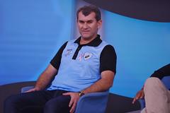 """09-10-2017: Participação de Cláudio Tencati no programa """"Bem, Amigos"""" do Sportv"""
