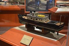 Bradenton, FL - South Florida Museum - River Heritage Hall - Model - The Islander Mailboat