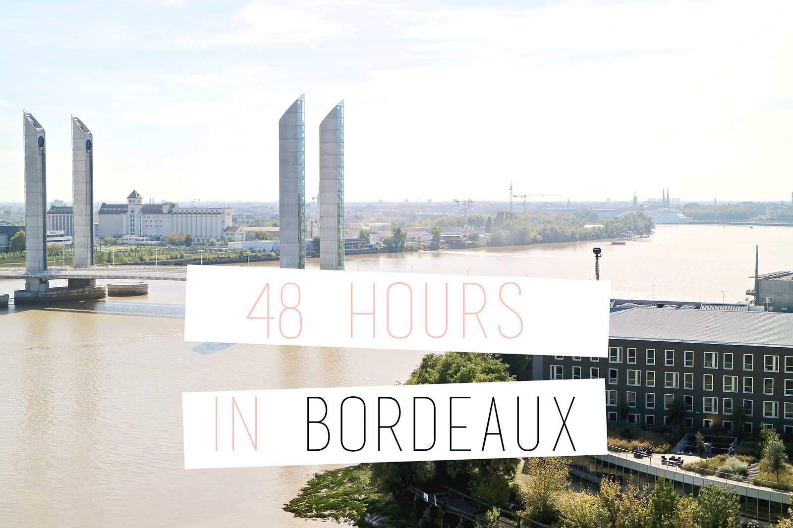 discovering bordeaux by train