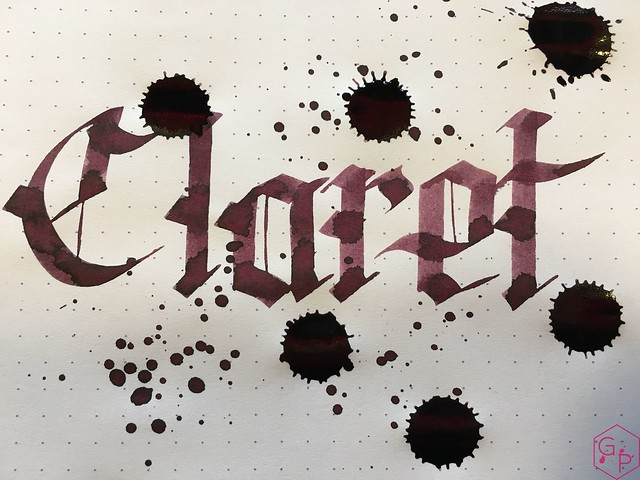 Ink Shot Review @RobertOsterInk Claret @MilligramStore 9
