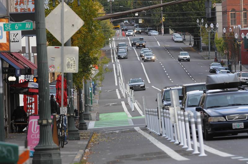 New bikeway on SE Morrison-59.jpg