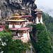 Paro Taktsang (or Tiger's Nest). Paro, Bhutan.