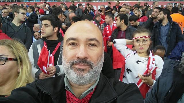 Türkiye - İzlanda maçı Selfie
