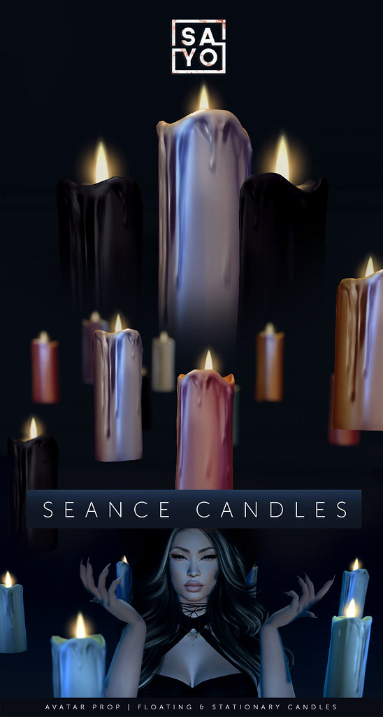 SAYO – Seance Candles @ SALEM