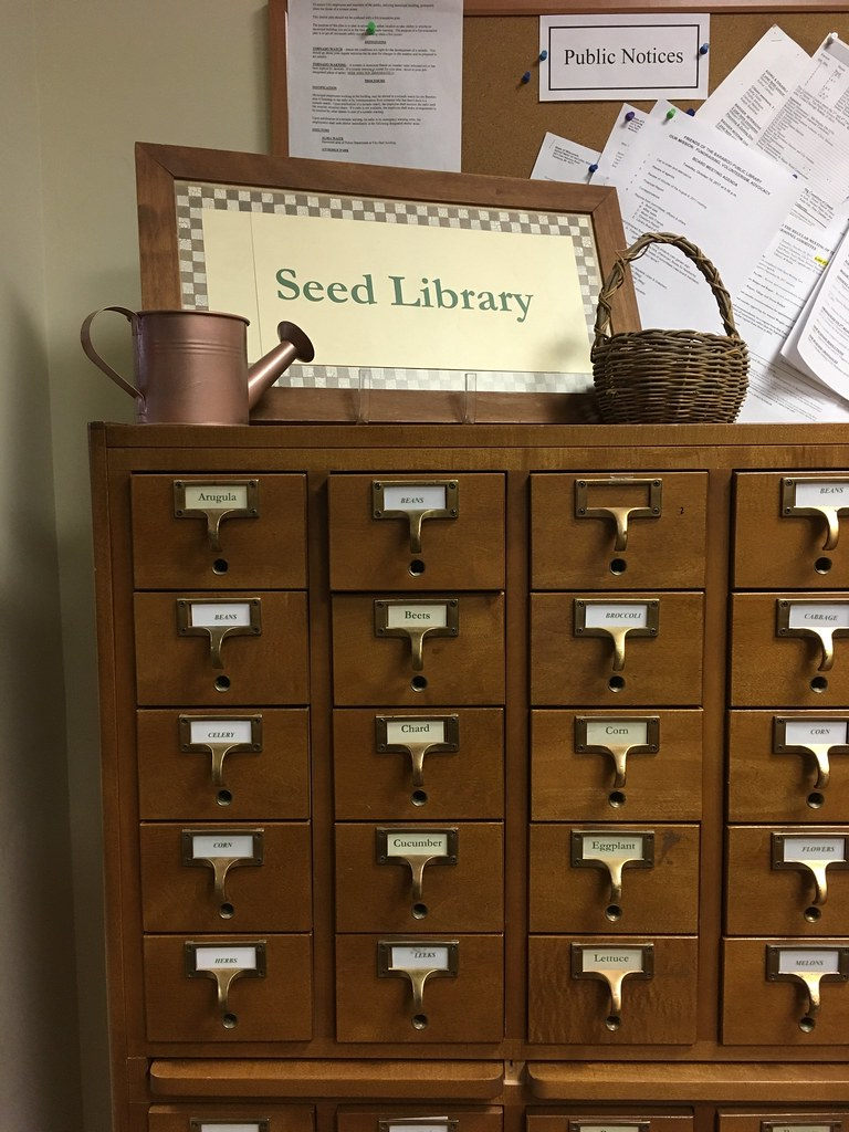 Baraboo Library - Seed Library!