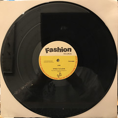 FRANKIE PAUL:THE KISSING GAME(RECORD SIDE-B)