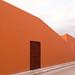 red wall, Campèche por bruno vanbesien
