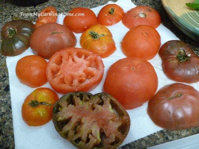 Tomato Pie at From My Carolina Home