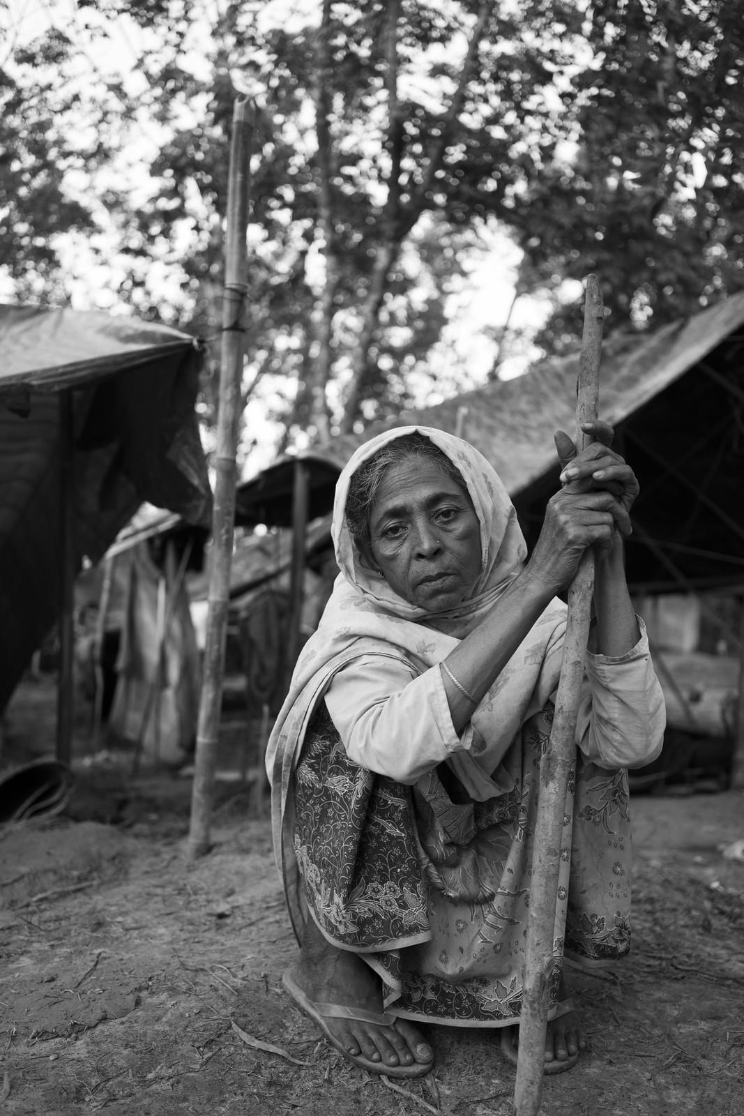 Rohingya Refugee Portrait - 1/21