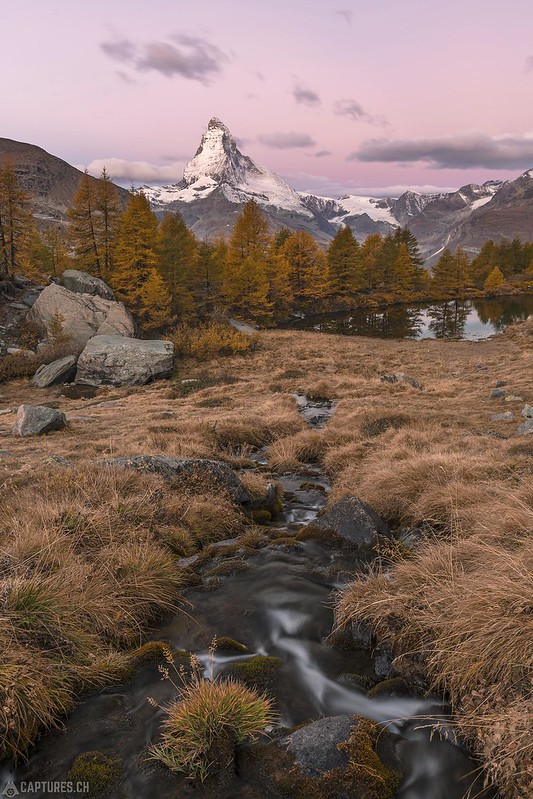 Dawn at the Matterhorn - Zermatt