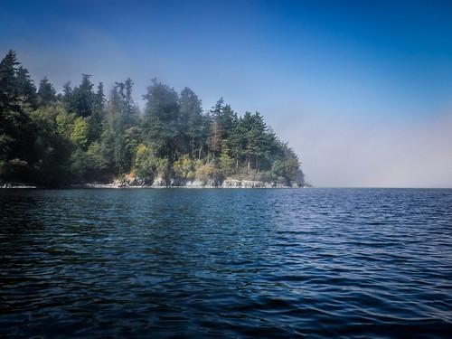Samish Island Paddling in Fog-39