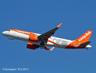F-WWIJ Airbus A320 EasyJet