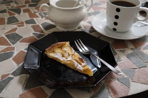 Tarte aux pommes (mein 2. Stück)