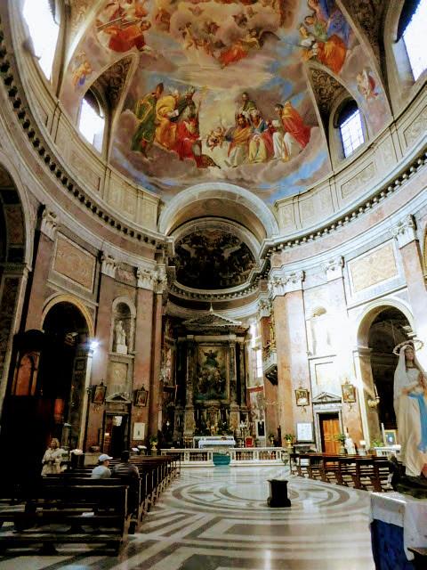 Basilicia San Giacomo, Rome