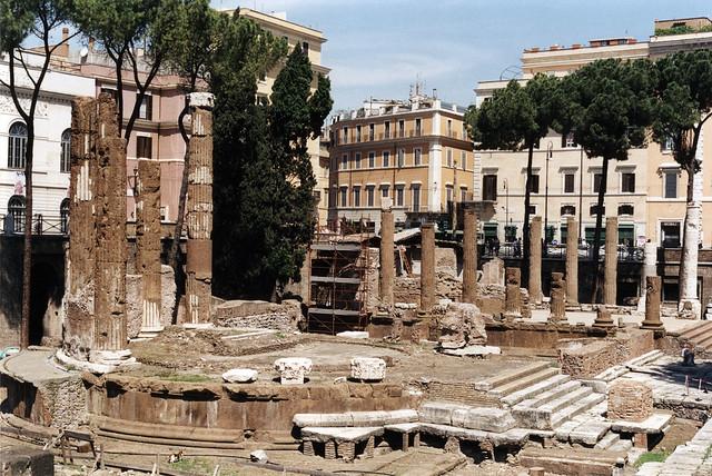 Roman Ruins in Largo di Torre Argentina