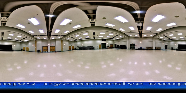Advertising & marketing photography - 360 degrees virtual tour of venue