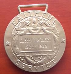 Heinz Faithful Service Gold Medal FOB reverse