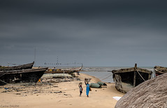 Le port d'Aneho, Togo