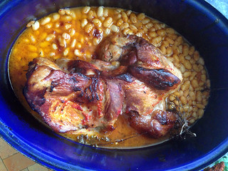 Porc à l'harissa et haricot blanc4