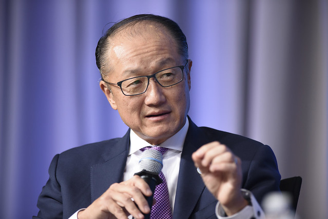 Sat, 10/14/2017 - 11:54 - October 14, 2017 - WASHINGTON, DC. World Bank / IMF 2017 Annual Meetings. Taking Women-Owned Businesses to the Next Level  Jim Yong Kim, President, World Bank Group; Ivanka Trump, Senior Adviser To The President Of The United States; Reem Bint Ebrahim Al Hashimy, Minister Of State For International Cooperation, United Arab Emirates; Steven Puig, CEO, Banco BHD; Philippe Le Houérou, CEO, IFC; Anta Babacar Ngom, Executive Director, Sedima; Nour Al-Hassan, CEO, Tarjama; Win Win Tint, CEO, City Mart Holding Company. Photo: World Bank / Franz Mahr