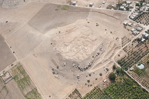eamenaclearancebulldozinglevelling jadis2021002 megaj9671 tallmdawwar tellmudawar تلمدور aerialarchaeology aerialphotography middleeast airphoto archaeology ancienthistory