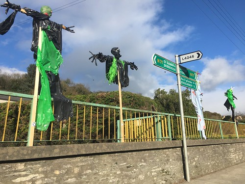 Leap turned into Leapy Hollows for Halloween. Ireland