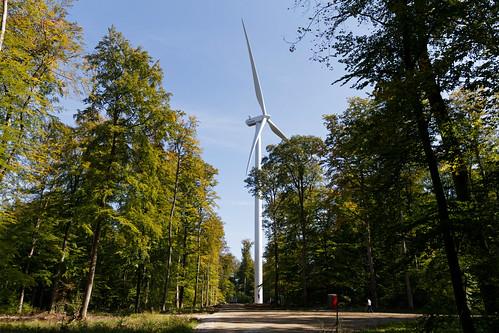 Montage des éoliennes à Herbitzheim