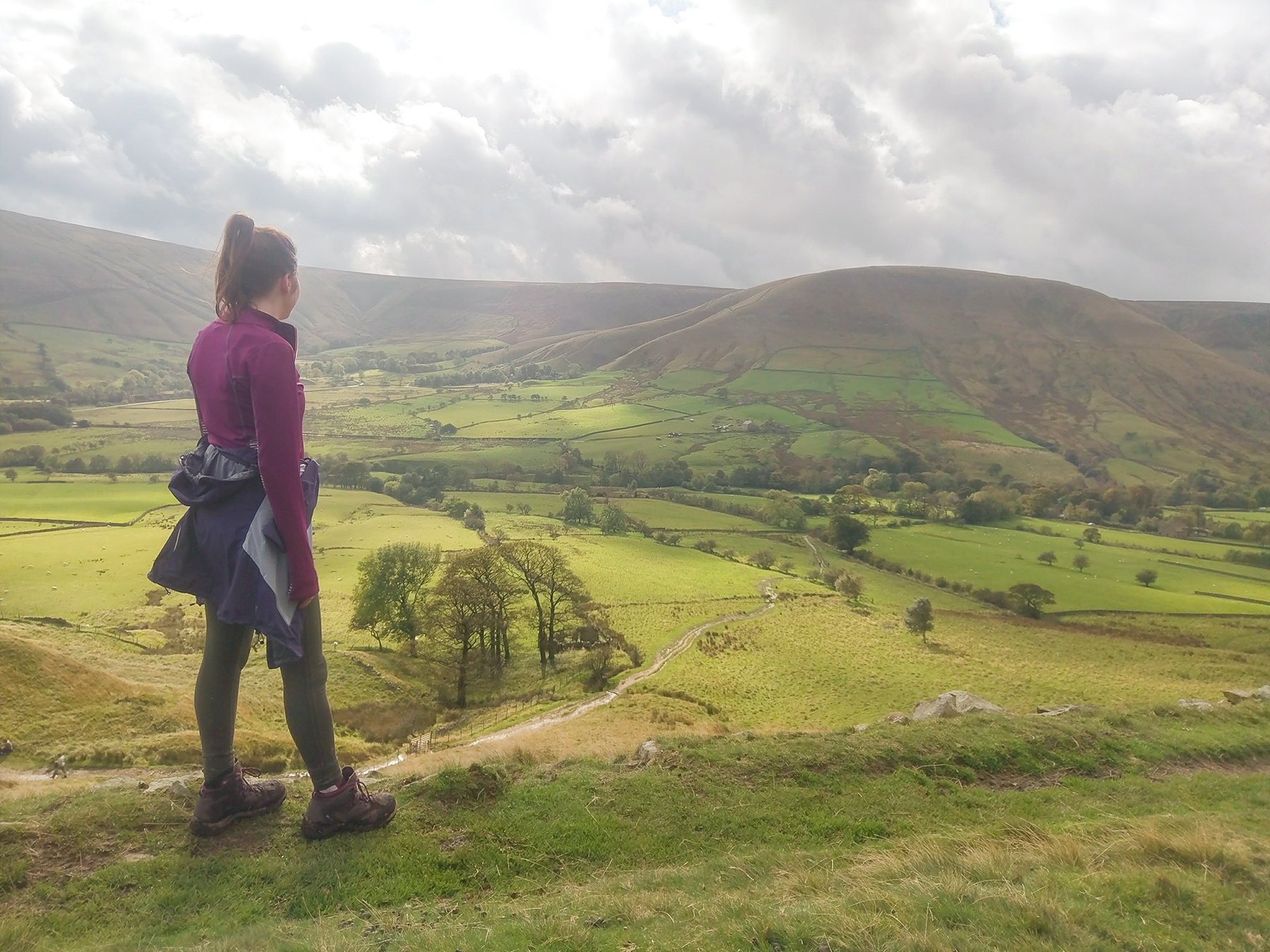 View of Edale, Peak District