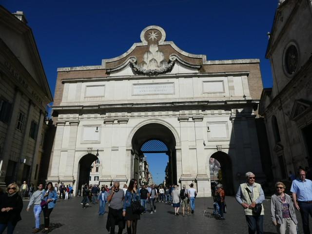 Porta del Popola, Rome